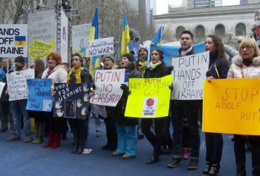 """""""Нет российской агрессии в Украине"""": В Нью-Йорке и Вашингтоне пройдут акции протеста"""