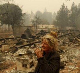 Более 100 человек пропали без вести из-за пожара в Калифорнии