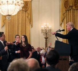 Журналист CNN поругался с Трампом. Теперь его не пускают в Белый дом