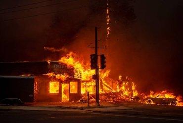 Как минимум 9 человек погибли при пожаре в Калифорнии