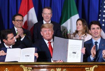 Трамп подписал новое торговое соглашение с Мексикой и Канадой