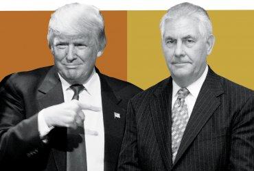 Бывший госсекретарь рассказал о своей работе на Трампа и раскритиковал президента. Тот в долгу не остался