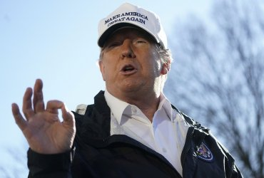Дональд Трамп едет в Техас из-за строительства стены. Он готов объявить чрезвычайное положение