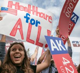 Американцев с медстраховкой стало на 7 миллионов меньше