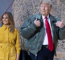 Дональда и Меланию Трамп номинировали на звание худших актеров