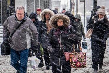 Более 1500 рейсов в США отменено из-за опасных холодов