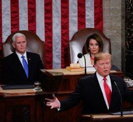 Женщины в белом, иммиграция и единство: что говорил Трамп в ежегодном обращении