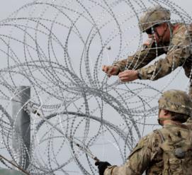 На границу США и Мексики отправят несколько тысяч солдат