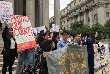 В Нью-Йорке аресты иммигрантов в зданиях суда возросли на 1700%