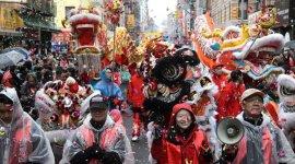 Парад в честь китайского Нового года на Манхэттене