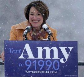 Сенатор из Миннесоты Эми Клобушар идет в президенты