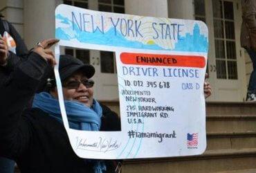 Жители Нью-Йорка против водительских прав для нелегалов. Почему?