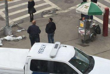 Машина пограничной службы вызвала панику в школе. Хотя агенты лишь вышли на обед