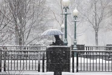 На США обрушился снежный шторм: ожидаются снегопады, наводнения и торнадо