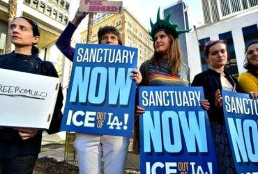 """Трамп предложил отпускать задержанных иммигрантов на улицы """"либеральных"""" городов"""