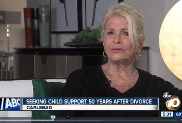 Женщина из Сан-Диего отсудила выплаты на ребенка спустя 50 лет после развода