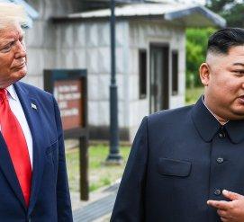 Трамп стал первым американским президентом, посетившим Северную Корею