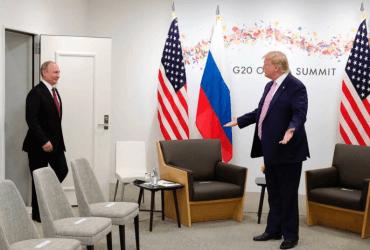 """Трамп и Путин на саммите """"Большой двадцатки"""": обсуждали Украину, шутили про вмешательство в выборы"""