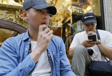 Электронные сигареты запретят в первом большом городе США