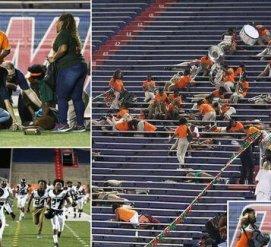В Алабаме во время футбольного матча произошла стрельба: есть раненые