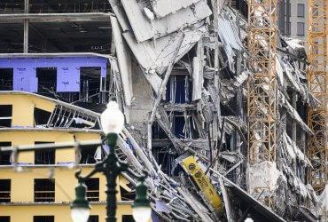 Иммигрант из Гондураса, пострадавший при обрушении отеля в Новом Орлеане, арестован