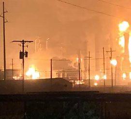 Взрыв на химическом заводе в Техасе. Есть раненые