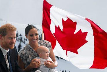 Меган Маркл, принц Гарри и малыш Арчи провели Рождество в Канаде
