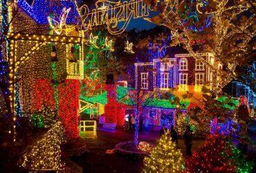 7 красочных мест в США для празднования Рождества
