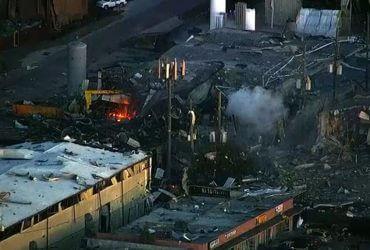 Взрыв в Хьюстоне: двое погибших, один пропавший без вести, десятки домов разрушены
