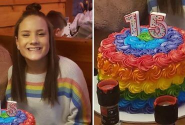 Христианская школа отчислила ученицу после публикации ее фото с радужным тортом