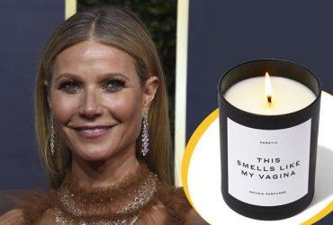 """Гвинет Пэлтроу выпустила свечу под названием """"Это пахнет, как моя вагина"""""""