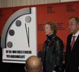 Часы судного дня перевели рекордно близко к концу света