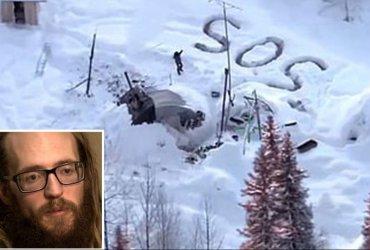 На Аляске спасли мужчину, прожившего три недели в снежной пещере