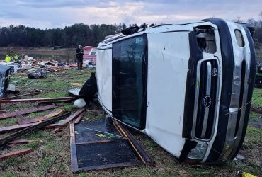 На юге США сильнейший шторм. Уже погибло 11 человек