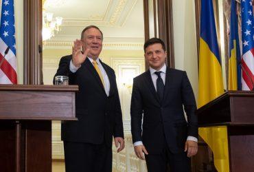 Майк Помпео приехал в Украину. О чем он говорил с Зеленским?