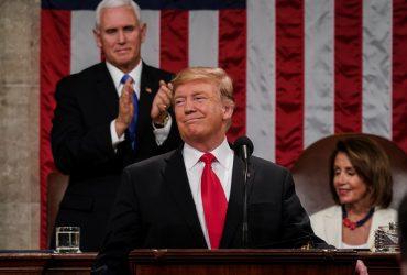 Ни слова об импичменте: что говорил Трамп в обращении к нации