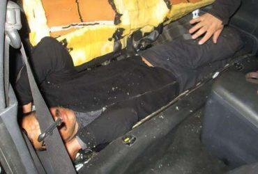 В Калифорнии пограничники нашли мексиканца в сиденье автомобиля
