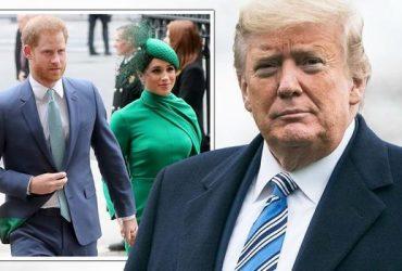 Трамп отказал Меган Маркл и принцу Гарри в охране. Они и не просили