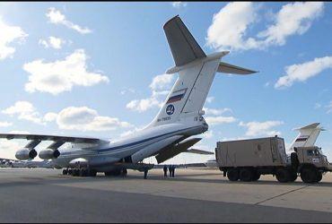 В США доставили медицинское оборудование из России